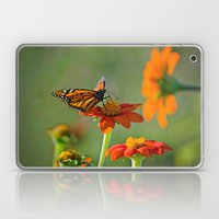 Monarch Butterfly Laptop & iPad Skin
