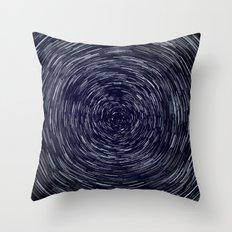 Stars Long Exposure Throw Pillow