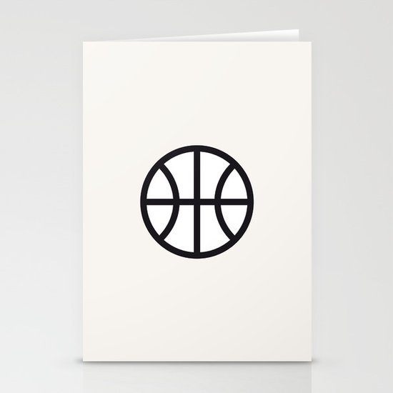 Basketball - Balls Serie Stationery Card