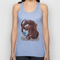 Space Brontosaurus  Unisex Tank Top