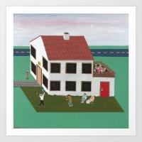 House N° 12 Art Print