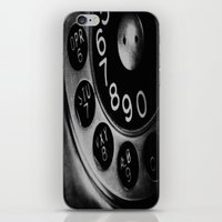 Retro Phone iPhone & iPod Skin