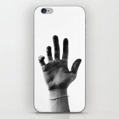 Working Hands (I Dye) iPhone & iPod Skin