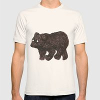 Blind As A Bear Mens Fitted Tee Natural SMALL