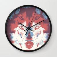 WOLF 3D Wall Clock