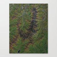 Blue Ridge Mountains Nor… Canvas Print