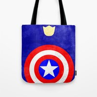 Captain America: Avenger… Tote Bag