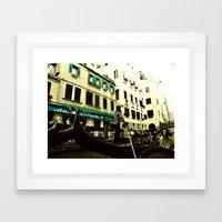 CIAO BELLA! Framed Art Print