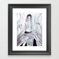 The Quiet Hunter Framed Art Print