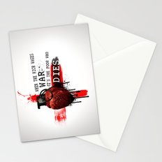 When The Rich Wages War... Stationery Cards