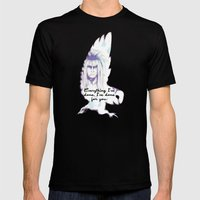 Labyrinth Everything I'v… Mens Fitted Tee Black SMALL