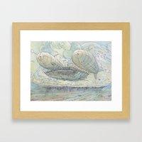 Il Tappeto Volante Framed Art Print