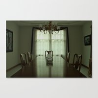 Final Meal Canvas Print