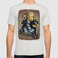 Nemesis: Resident Evil Mens Fitted Tee Silver SMALL