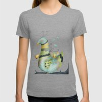 Bird Womens Fitted Tee Tri-Grey SMALL