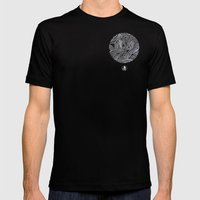 Tangles Mens Fitted Tee Black SMALL