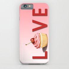 Perfect Pink Cupcake LOVE iPhone 6s Slim Case