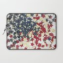 EUA FLAG STARS Laptop Sleeve