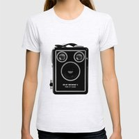 Box Brownie Womens Fitted Tee Ash Grey SMALL