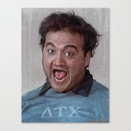 Canvas Print featuring Animal House (Food Fight… by Lensebender