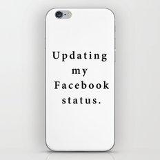Updating Status iPhone & iPod Skin