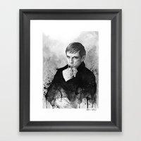 Barnabas Collins DARK SH… Framed Art Print