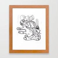 Crazzy II Framed Art Print