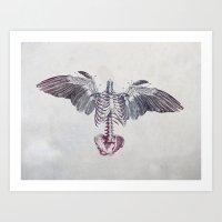 Dead Things Art Print