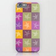 Autumn Checkerboard iPhone 6 Slim Case