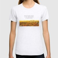 the past is like a foreign country. Womens Fitted Tee Ash Grey SMALL