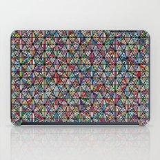 Cuben Offset Geometric Art Print. iPad Case