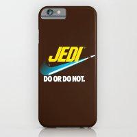 Brand Wars: Jedi - blue lightsaber iPhone 6 Slim Case