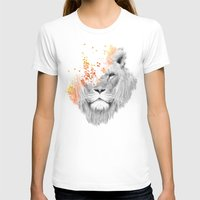 lion T-shirts featuring If I roar (The King Lion) by Picomodi