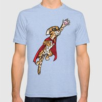 Super Ocelot Mens Fitted Tee Tri-Blue SMALL