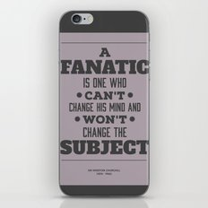 Fanatic iPhone & iPod Skin