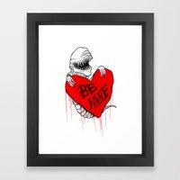 Bursting With Love Framed Art Print