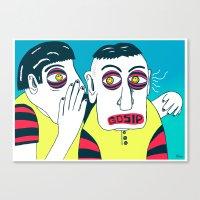 GOSIP Canvas Print