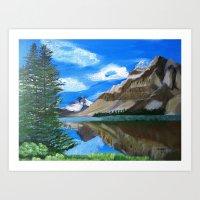 Mountain Landscape Art Print