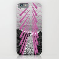iPhone & iPod Case featuring Surreal Beachscape by Wheeler Juell