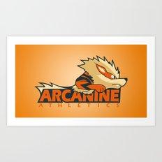 Athletics Wear Art Print