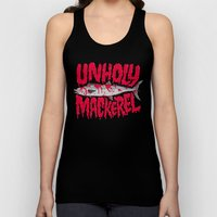 UNHOLY MACKEREL Unisex Tank Top