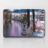 Quiet River In Winter Ti… iPad Case