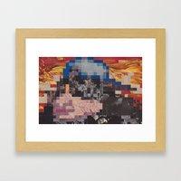 Hoagie Framed Art Print