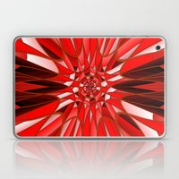 Red mineral Laptop & iPad Skin