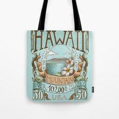 Hawaii Vintage Postage Stamp Tote Bag