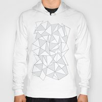 Abstraction Lines Grey Hoody
