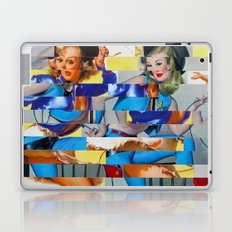 Glitch Pin-Up: Yasmin & Yardley Laptop & iPad Skin