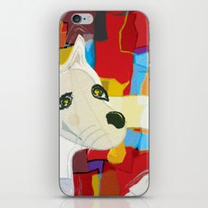 Bad Dog Cubism iPhone & iPod Skin