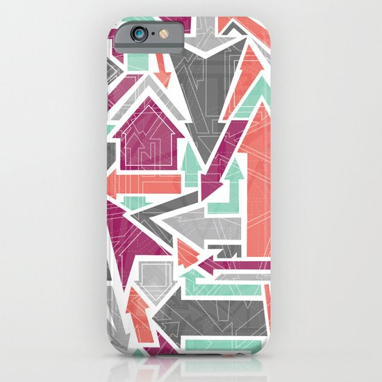 Patterned Arrows iPhone & iPod Case
