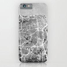 San Francisco City Street Map Slim Case iPhone 6s